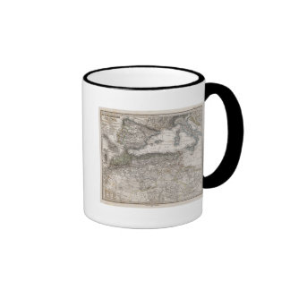 North Africa Region Map Coffee Mug
