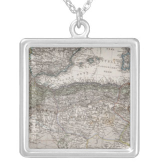 North Africa Region Map Necklace