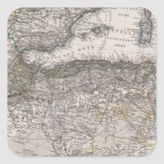 North Africa Region Map Sticker