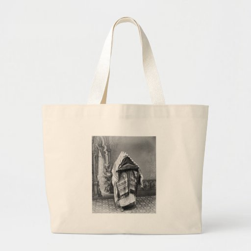 North African in Costume - Vintage Photo 1880 Canvas Bag