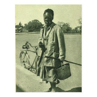 North African man 1920 Postcard