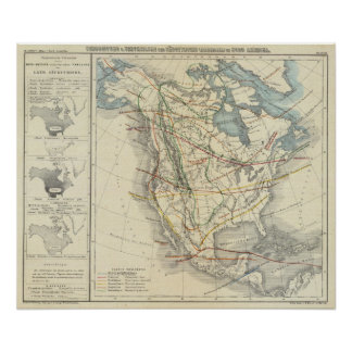 North America 33 Poster