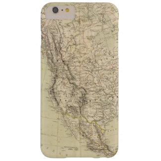 North America Atlas Map showing Indian tribes Barely There iPhone 6 Plus Case