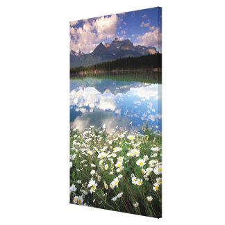 North America, Canada, Alberta, Banff National 2 Canvas Print