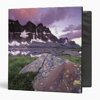 North America, Canada, Alberta, Jasper 3 Ring Binder