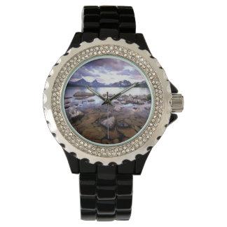 North America, Canada, Alberta, Jasper National Wristwatch