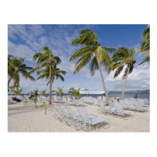 North America, Caribbean, Dominican Republic. 2 Postcard