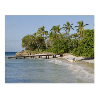 North America, Caribbean, Dominican Republic. Postcard