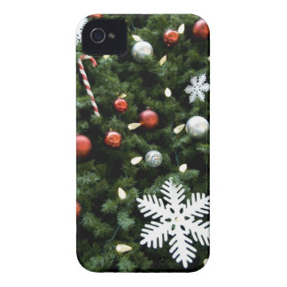 North America. Christmas decorations on tree. 4 Case-Mate iPhone 4 Cases