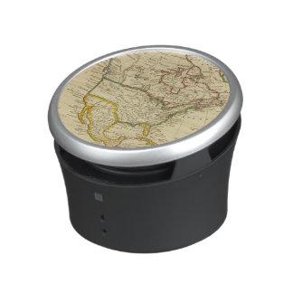 North America Engraved map Speaker