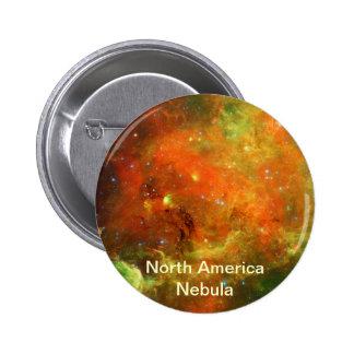 North America Nebula 2 Inch Round Button