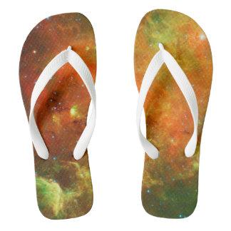 North America Nebula Flip Flops