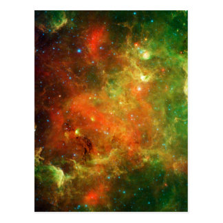 North America Nebula Space NASA Postcard
