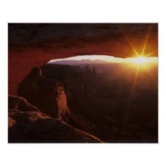 North America, U.S.A., Utah, Canyonlands Poster