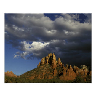 North America, United States, Arizona, Sedona. Poster