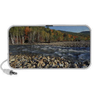 North America, US, NH, A cobble beach on the Portable Speaker
