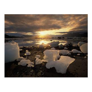 North America, USA, Alaska, Ice Bay, Icescape, Postcard
