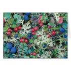 North America, USA, Alaska, Landscape, berries Card