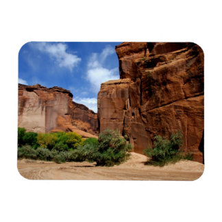 North America, USA, Arizona, Navajo Indian 5 Rectangular Photo Magnet