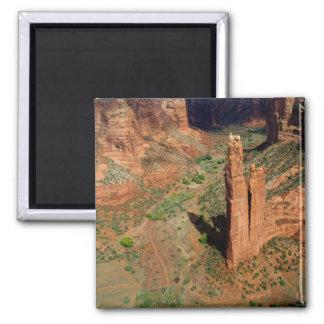 North America, USA, Arizona, Navajo Indian 7 Square Magnet