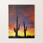 North America, USA, Arizona, Sonoran Desert Jigsaw Puzzle