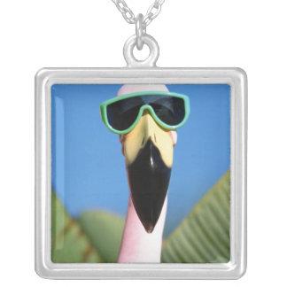 North America, USA, California, San Diego. Sea Silver Plated Necklace