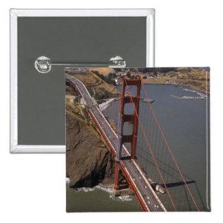 North America, USA, California, San Francisco, 2 Inch Square Button