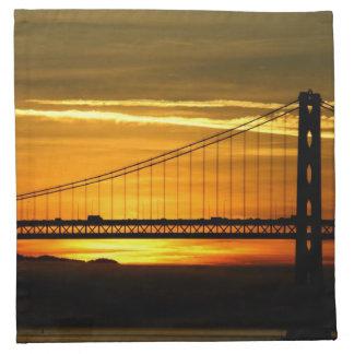 North America, USA, California, San Francisco. 3 Napkin