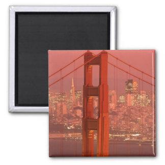 North America, USA, California, San Francisco. Magnet
