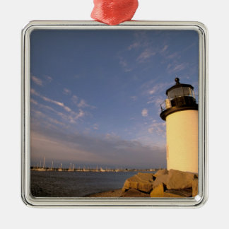North America, USA, Massachusetts, Nantucket Metal Ornament