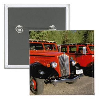 North America, USA, Montana. Classic 1934 Ford 2 Inch Square Button