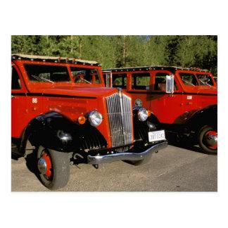 North America, USA, Montana. Classic 1934 Ford Postcard