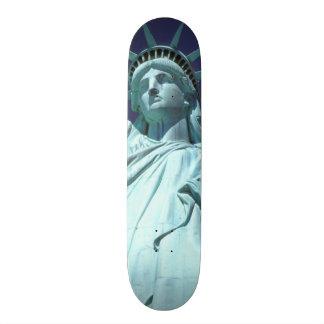 North America, USA, New York, New York City. 7 Skateboards