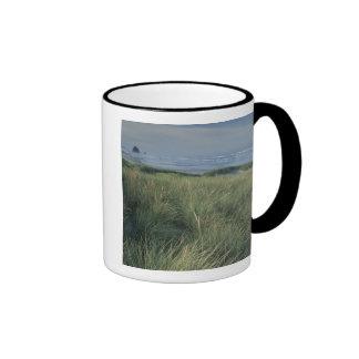 North America, USA, Oregon, Canon Beach, Ringer Coffee Mug