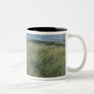 North America, USA, Oregon, Canon Beach, Two-Tone Coffee Mug