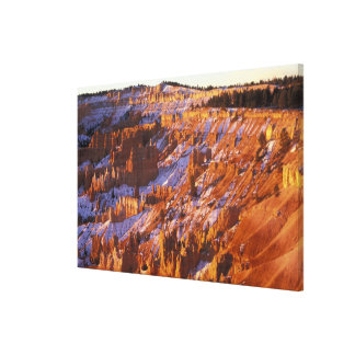 North America, USA, Utah, Bryce Canyon 2 Canvas Print