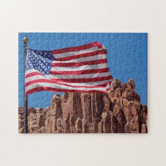 North America, USA, Utah, Torrey, Capitol Reef Jigsaw Puzzle