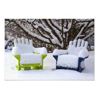 North America, USA, Washington, Seattle, Snow 3 Photograph
