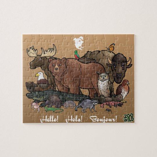 North American Animals - Jigsaw Puzzle