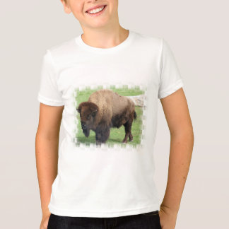 North American Bison Kid's T-Shirt