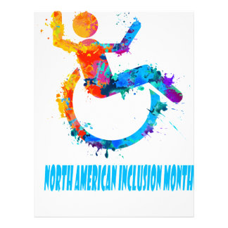 North American Inclusion Month - Appreciation Day Letterhead