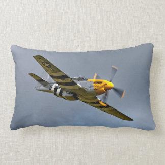 North American P-51D Mustang Lumbar Pillow