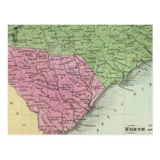 North and South Carolina 2 Postcard