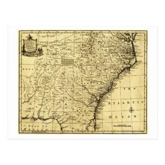 North and South Carolina & Georgia - Panoramic Postcard