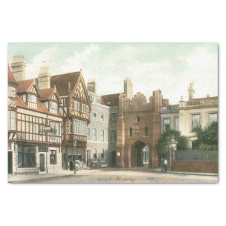 North Bar, Beverley (1900) Tissue Paper