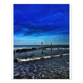 North Beach Sunset, Tybee Photographic Print
