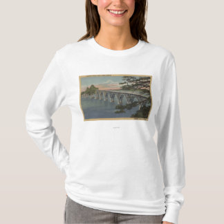 North Bend, Oregon - Coos Bay Bridge View T-Shirt