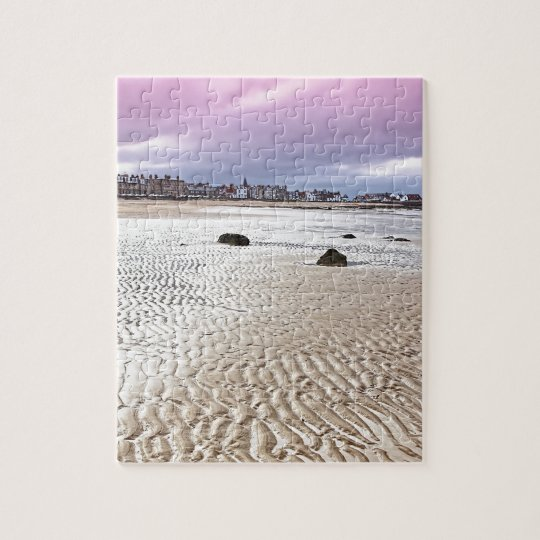 North Berwick beach in Scotland Jigsaw Puzzle