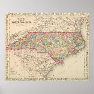 North Carolina 10 Poster