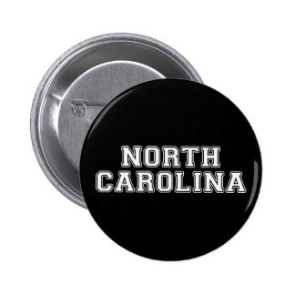 North Carolina 2 Inch Round Button